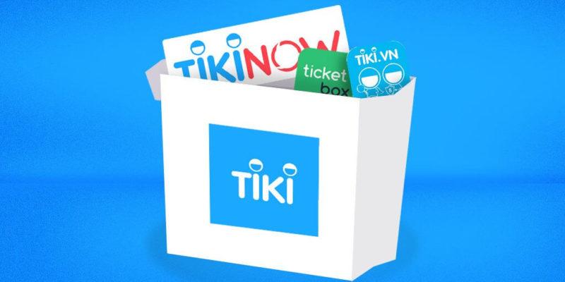 Shopping eCommerce platform in Vietnam: Tiki